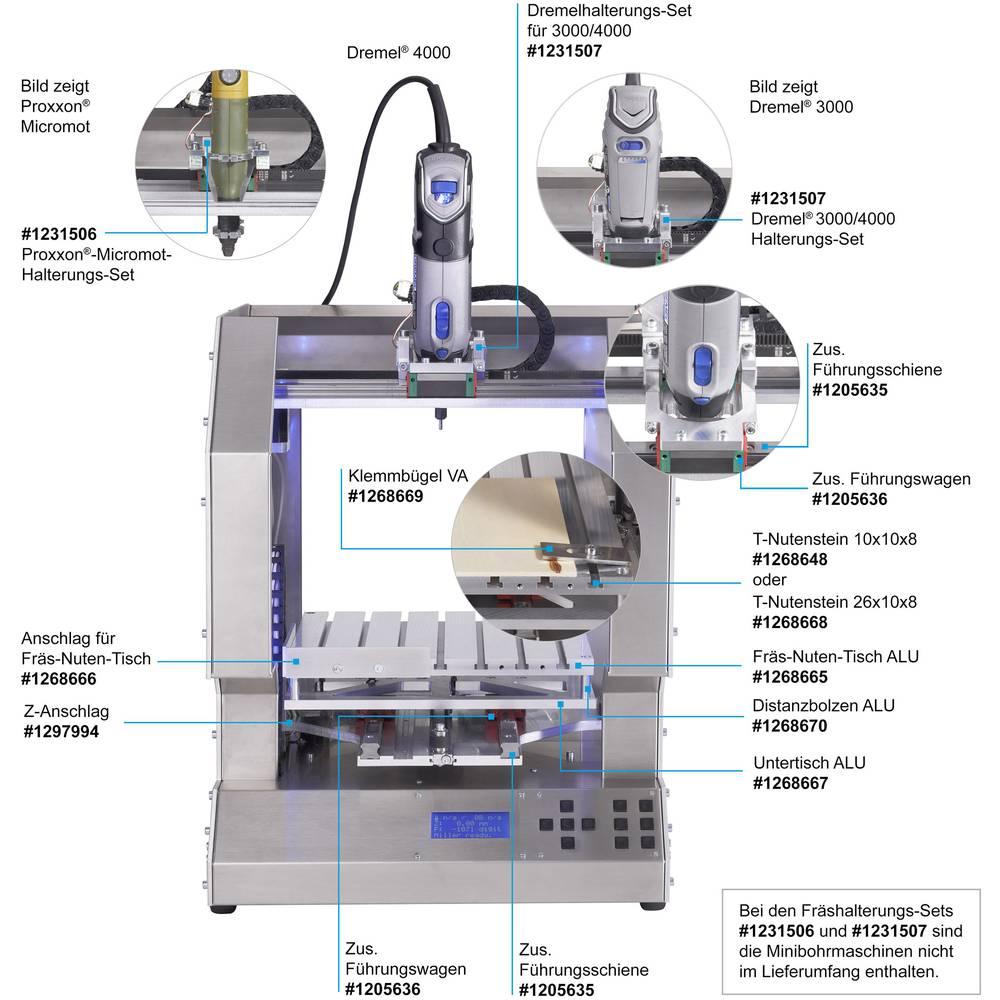Rf1000 Adapter For Dremel 3000 4000 Suitable 3d Printer Wiring Diagram Renkforce