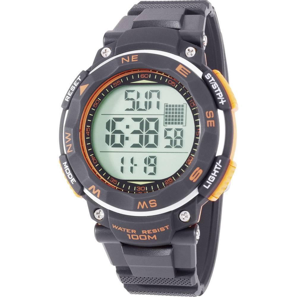 Digitalni ručni sat YP-11532-01 (Ø x V) 51 mm x 16 mm crna boja, Renkforce