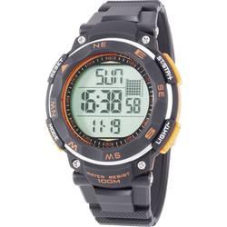 digital Armbåndsur Renkforce Digitale Armbanduhr Sport Sort