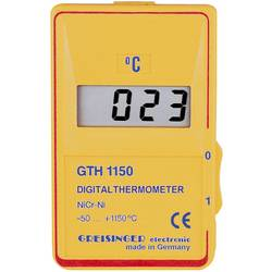 Temperatur-måleudstyr Greisinger GTH 1150 C -50 til +1150 °C Sensortype K Kalibrering efter: Fabriksstandard