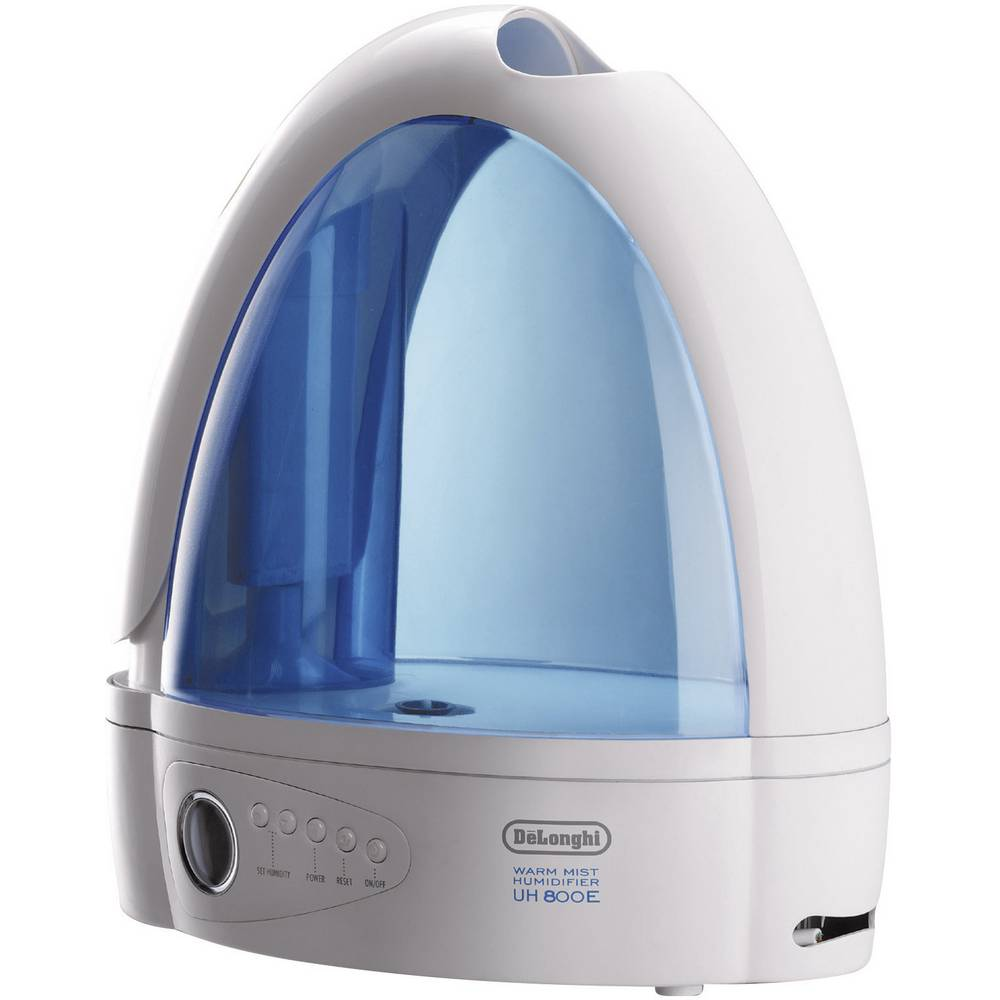 Ovlaživač zraka EEK grijanje/hlađenje: / 40 m2 260 W bijeli-plavi DeLonghi UH 800 E