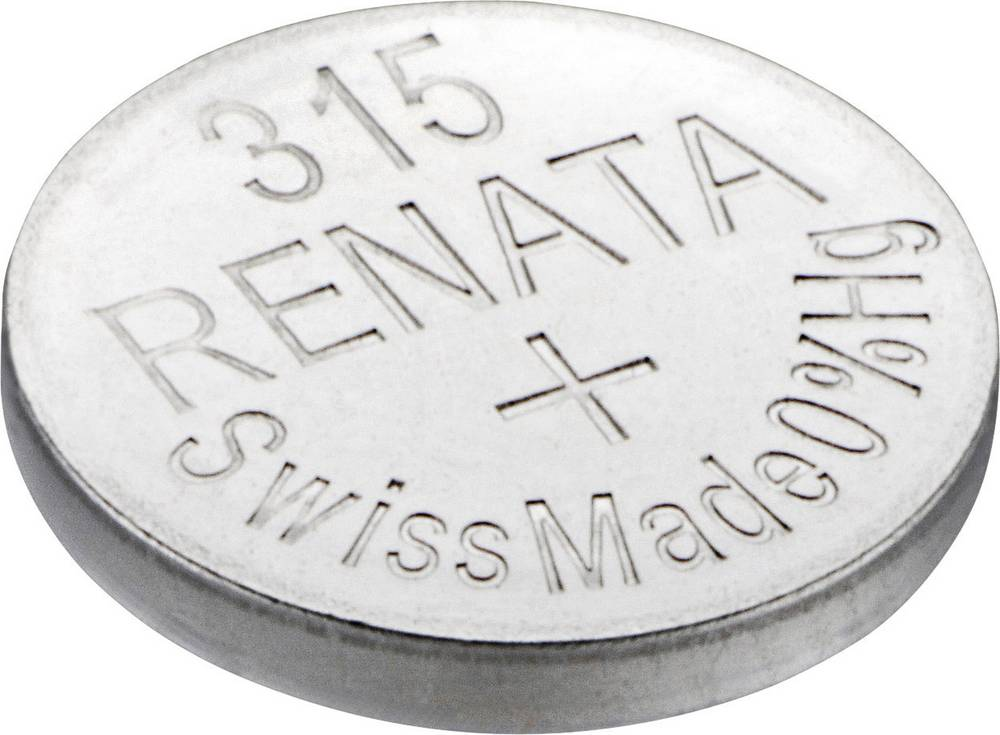 Gumbna baterija 315 srebrovo-oksidna Renata SR67 23 mAh 1.55 V, 1 kos
