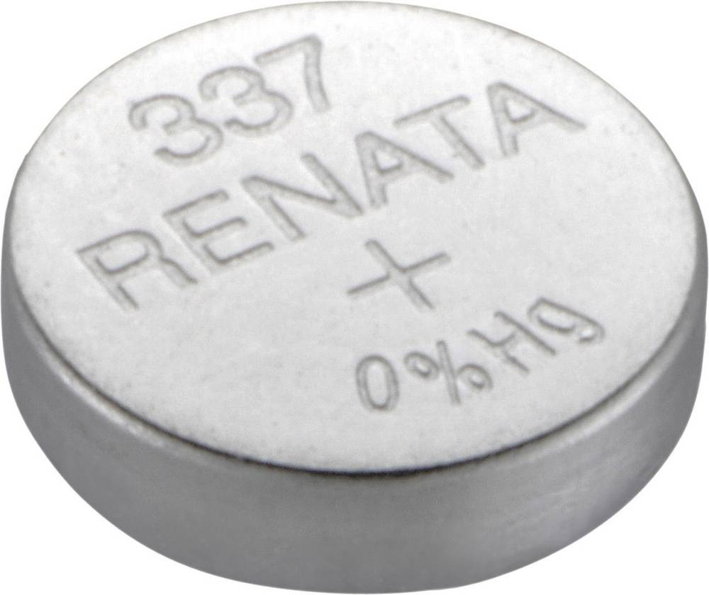 Gumbna baterija 337 srebrovo-oksidna Renata SR416 8 mAh 1.55 V, 1 kos