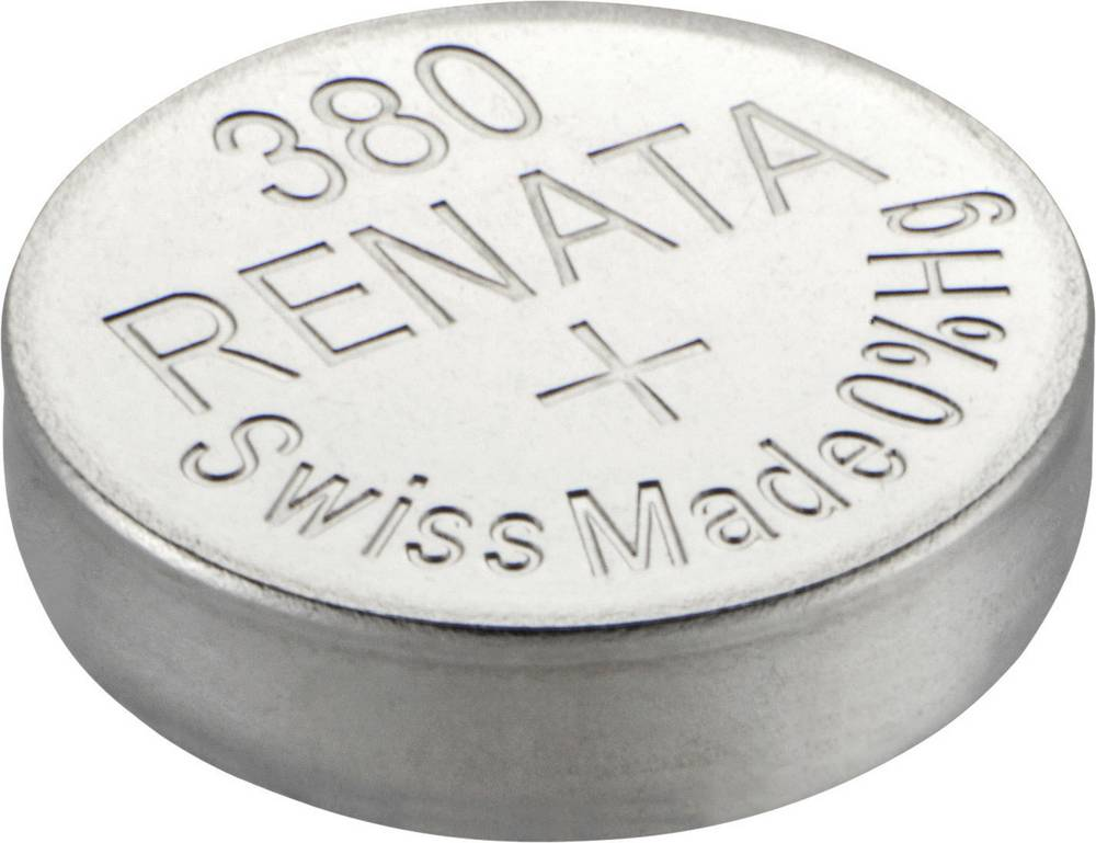 Gumbna baterija 380 srebrovo-oksidna Renata SR936 primerna za visoke tokove 82 mAh 1.55 V, 1 kos