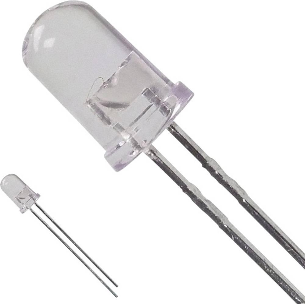LED med ledninger Broadcom 5 mm 14.1 cd 8 ° 50 mA 1.9 V Rød