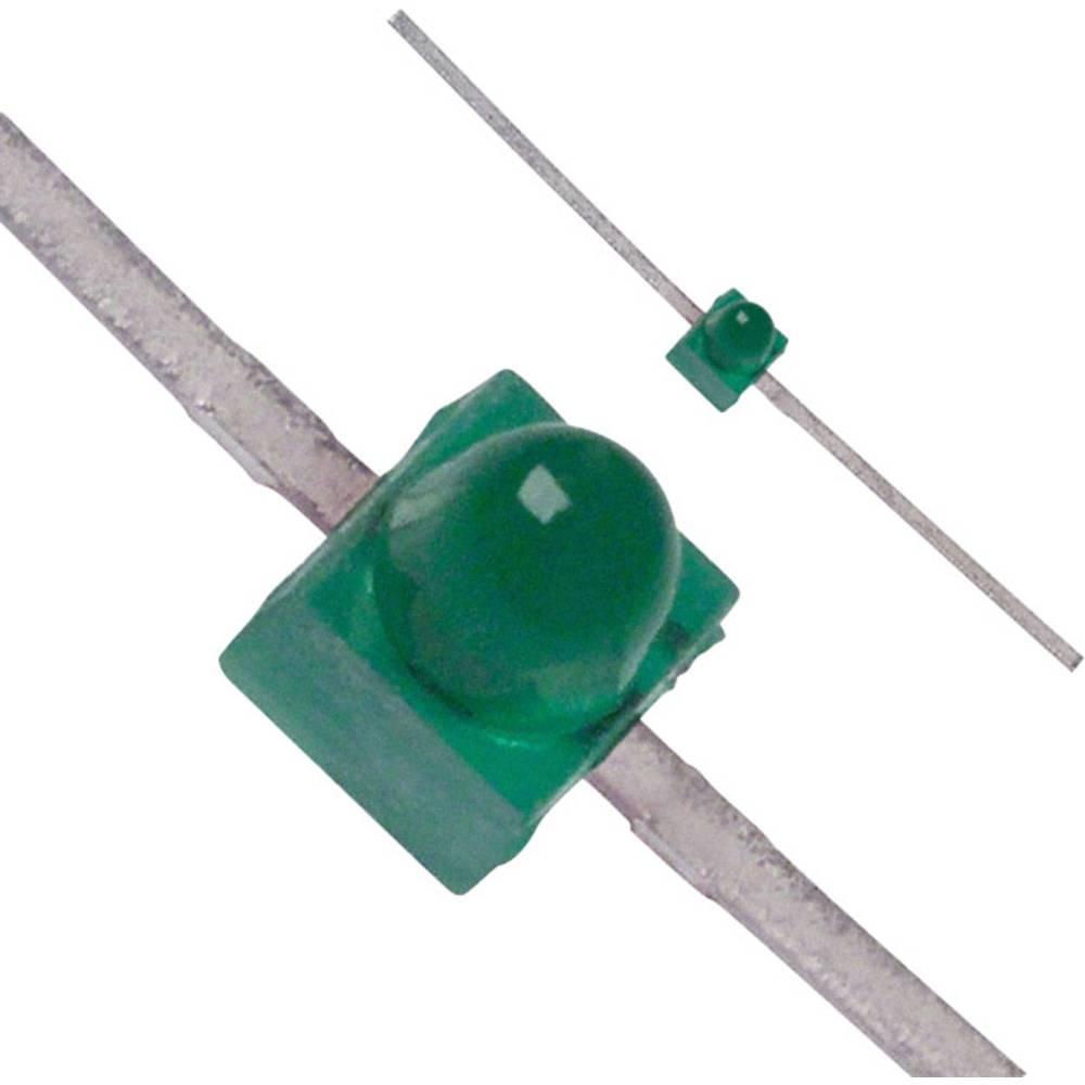 LED med ledninger Broadcom 1.9 mm 2 mcd 90 ° 30 mA 2.1 V Grøn