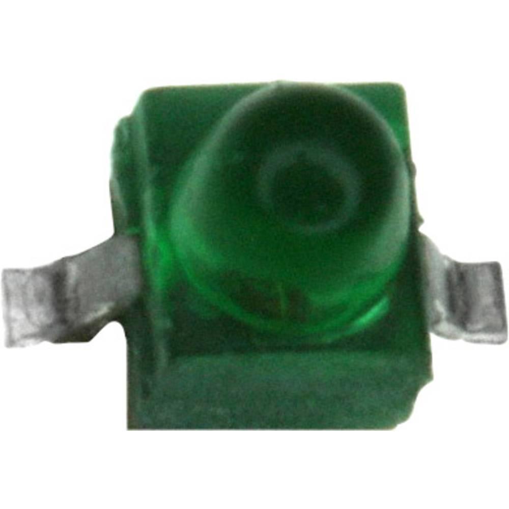 SMD LED Broadcom HLMP-7040-D0011 SMD-2 0.6 mcd 90 ° Grøn