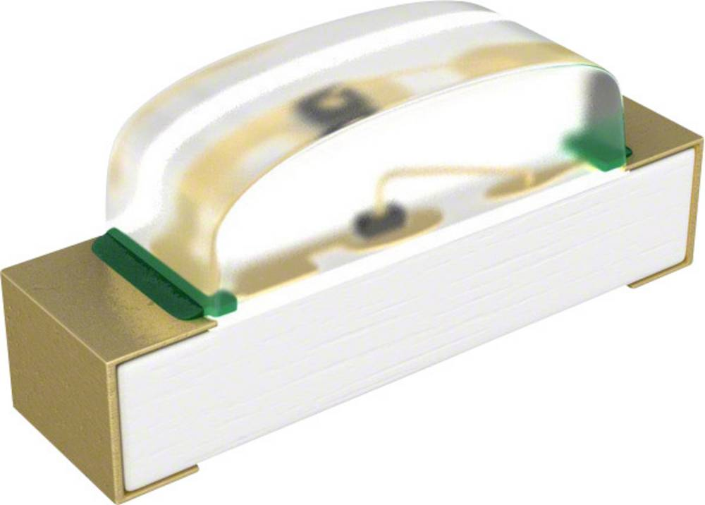 SMD LED Broadcom HSMQ-C120 SMD-2 145 mcd 155 ° Grøn