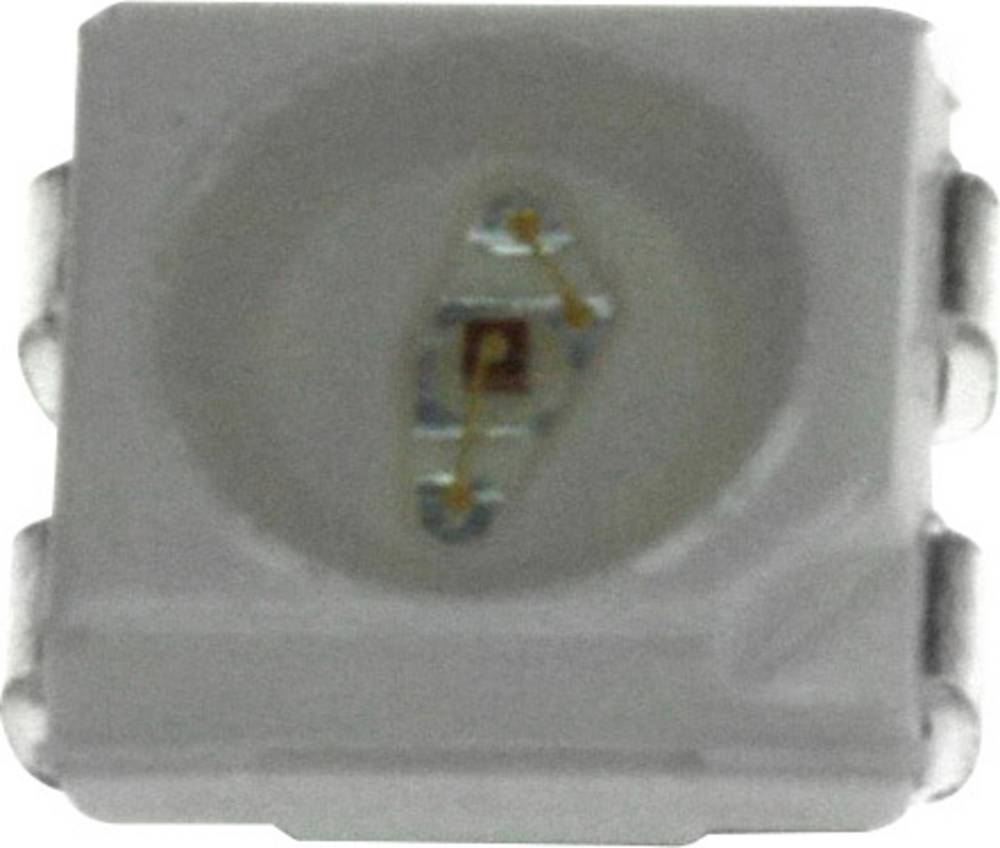 SMD LED Broadcom ASMC-PHB9-TW005 PLCC4 1463 mcd 120 ° Rød