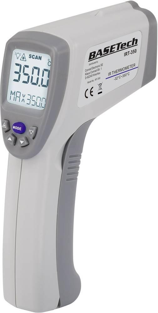 Infrardeči termometer Basetech IRT-350 optika 10:1 -32 do +350 °C