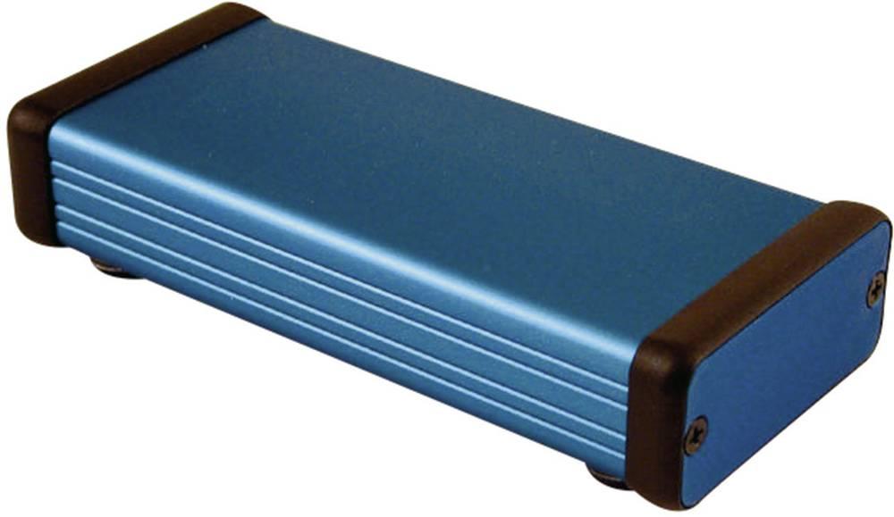 Universalkabinet 120 x 54 x 23 Aluminium Blå Hammond Electronics 1455C1201BU 1 stk