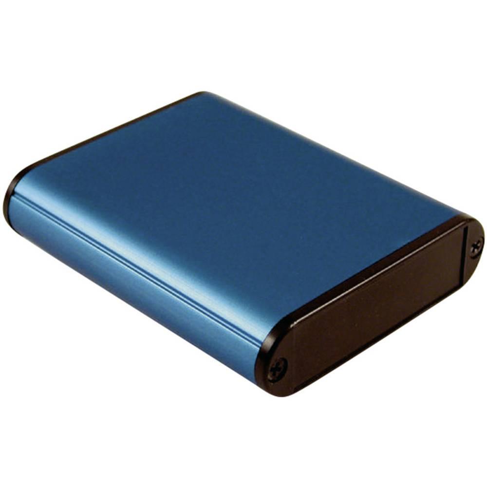 Universalkabinet 80 x 71.7 x 19 Aluminium Blå Hammond Electronics 1455B802BU 1 stk