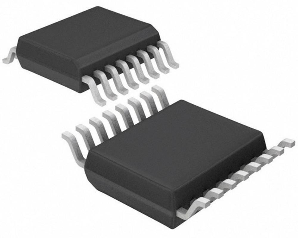 PMIC - grafikdriver Texas Instruments CD74HC4511PWT LED 7-segmenter 1-cifret BCD 8 µA TSSOP-16