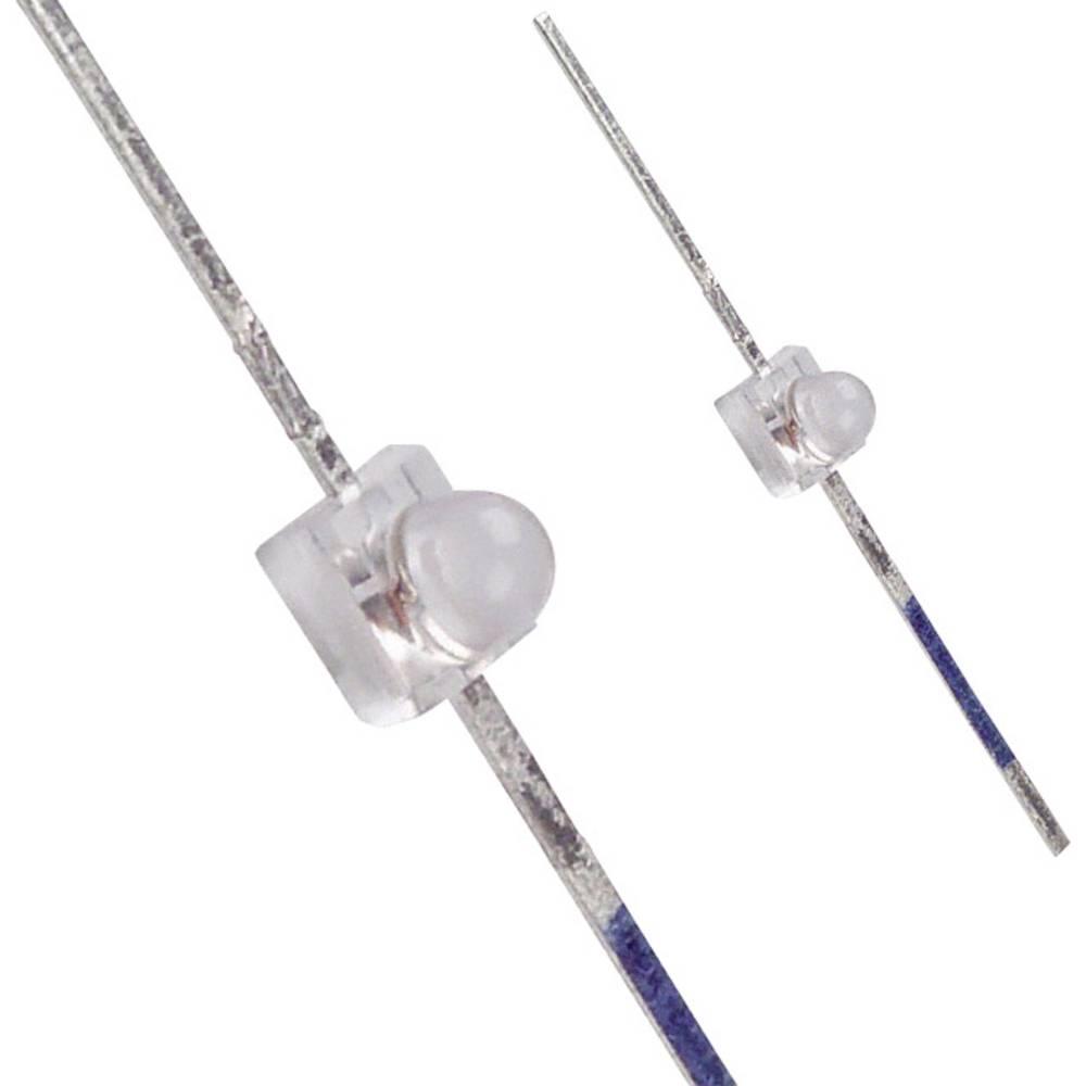 LED med ledninger LUMEX 1.9 mm 30 mcd 25 ° 30 mA 2 V Rød