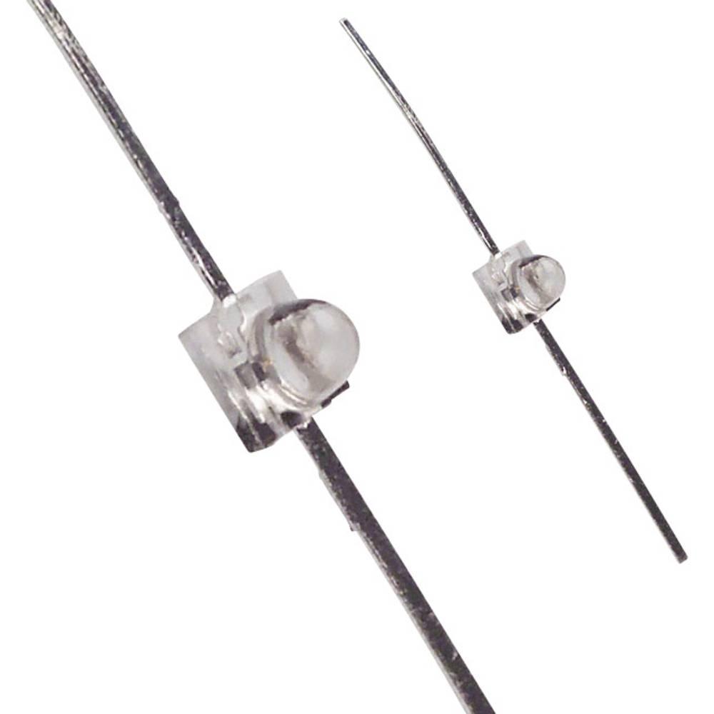 LED med ledninger LUMEX 1.9 mm 600 mcd 25 ° 25 mA 1.7 V Rød