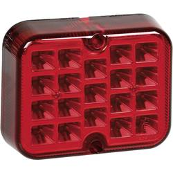 LED Tågebaglygte SecoRüt bagved Rød
