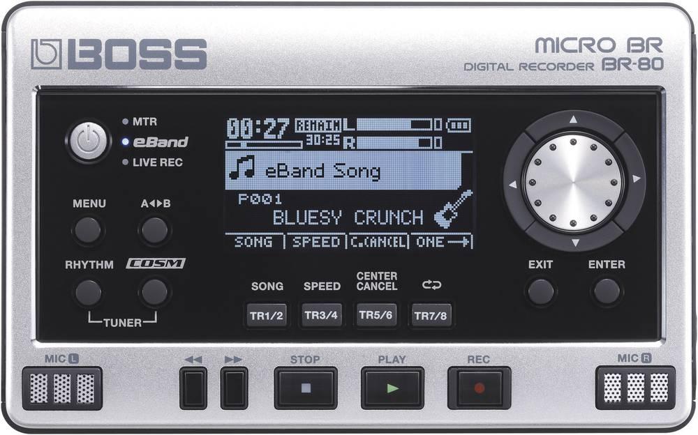 Snemalnik zvoka Boss Audio Systems BR-80, črno-srebrne barve 411141E99