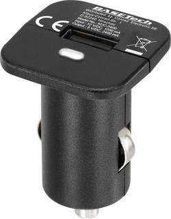 Personbil USB-laddare Basetech KUC-2400 1 xUSB 2400 mA Svart