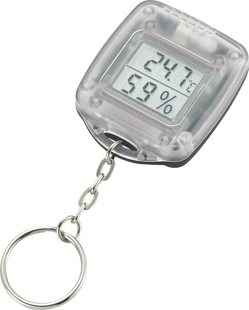 Termometer in vlagomer v obliki obeska za ključe KHT-1 Basetech