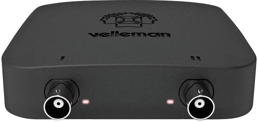 USB-osciloskop Velleman PCSU200 12 MHz 2-kanalni 25 MSa/s 4 kpts 8 Bit digitalni pomnilnik (DSO), spektralni analizator, funkcij