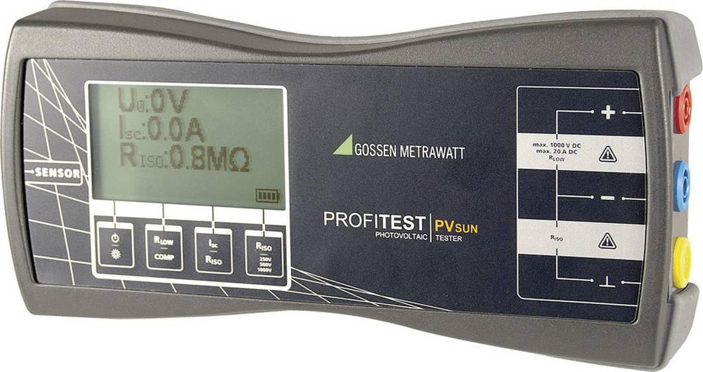 Solarni merilnik, fotovoltaični merilnik GMC Profitest PV Sun, LCD, 0-1.000 V/DC M360C