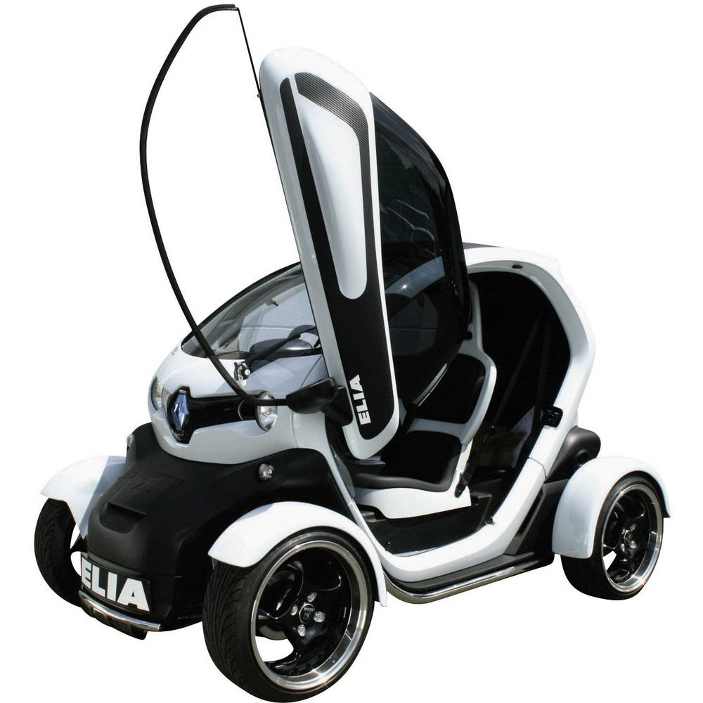 Renault Twizy: Side Windows Renault Twizy Colourless ELIA Tuning 2 Pc(s