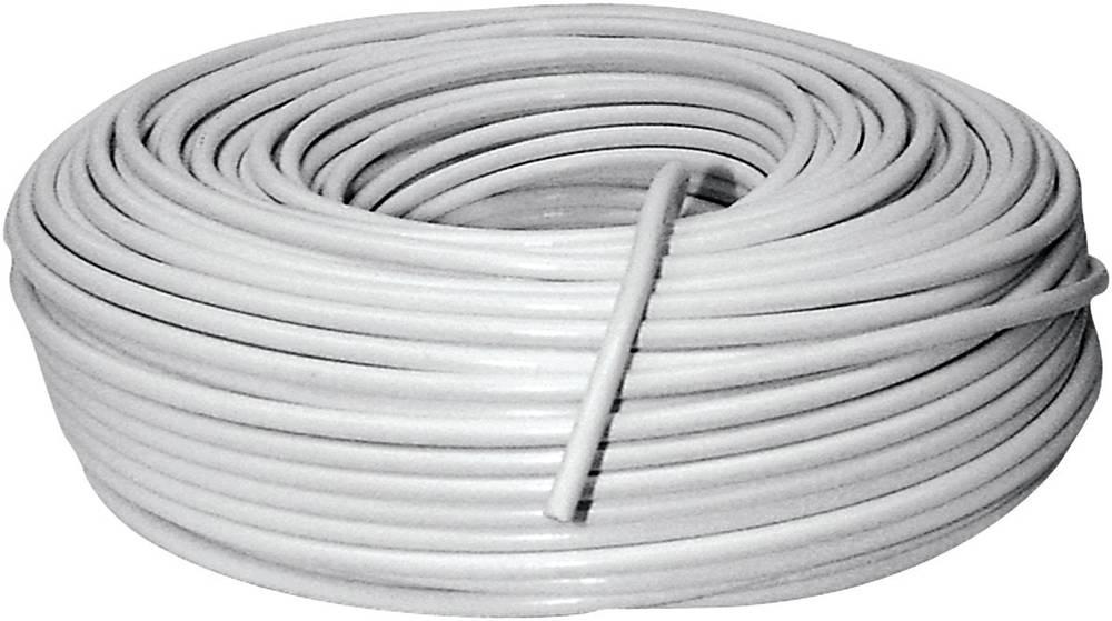Schwaiger KOX996100 002 SAT-koaksialni kabel, High End, 100 m, bele barve