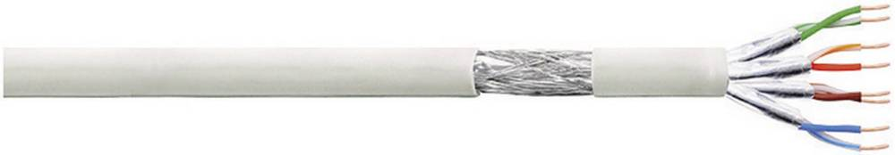 Mrežni kabel CAT 6 S/FTP 4 x 2 x AWG 27 sivi 100 m LogiLink CP2100S