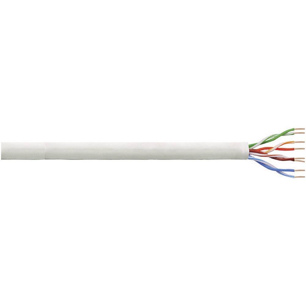 Mrežni kabel CAT 6 U/UTP 4 x 2 x AWG 26 sivi 100 m LogiLink CPV0021