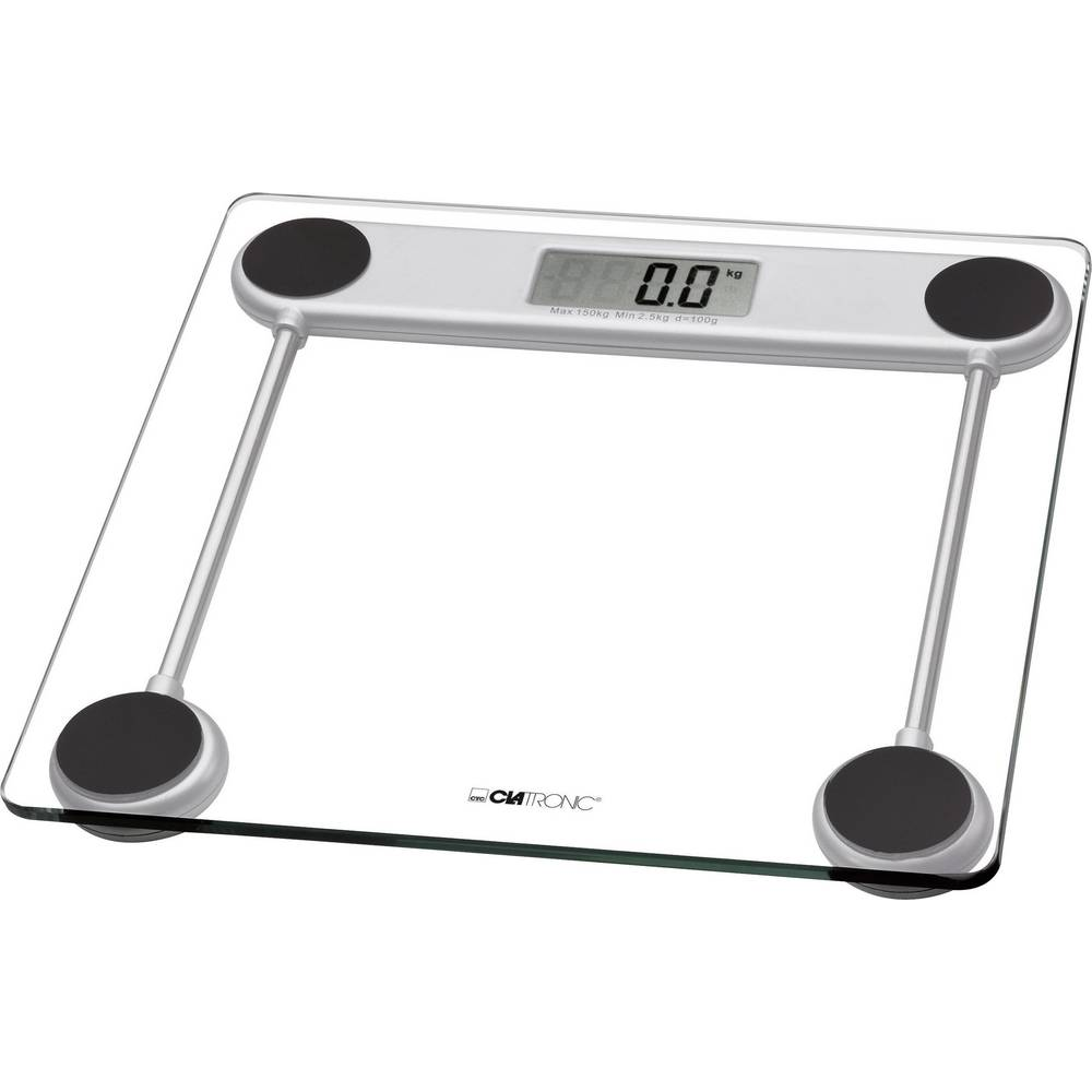 Digital Bathroom Scales Clatronic Pw 3368 Weight Range 150 Kg Gl