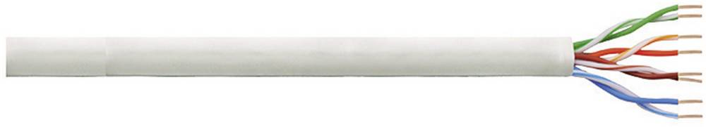 Omrežni kabel CAT 5e U/UTP 4 x 2 x 0.13 mm siva LogiLink CPV0014 100 m