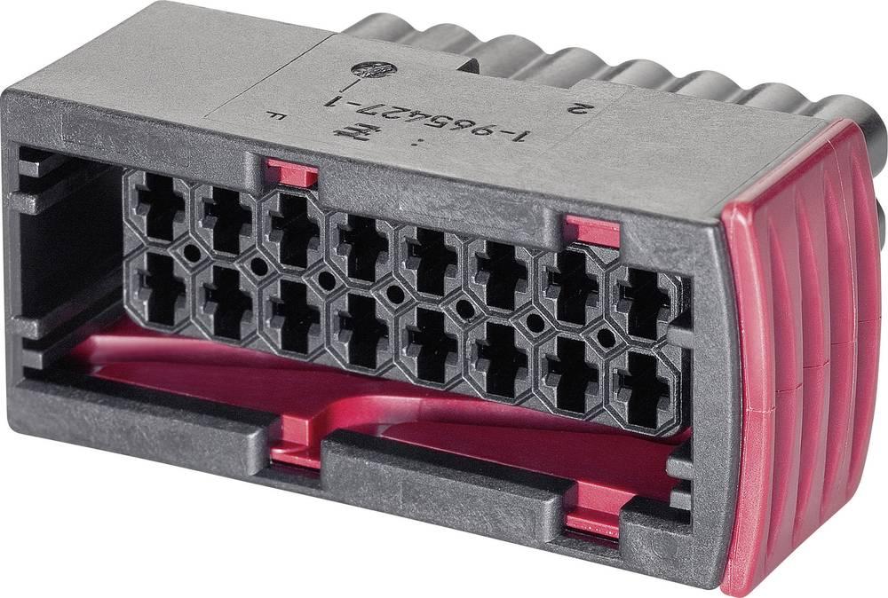 Tilslutningskabinet-kabel J-P-T Samlet antal poler 2 TE Connectivity 1-967239-1 Rastermål: 5 mm 1 stk