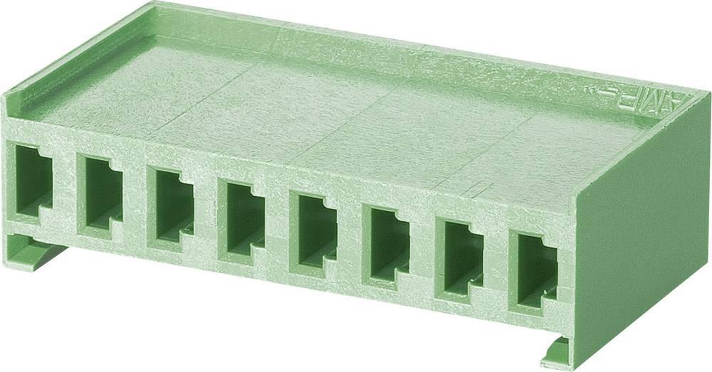 Tilslutningskabinet-kabel AMPMODU MOD I Samlet antal poler 8 TE Connectivity 280593 Rastermål: 3.96 mm 1 stk