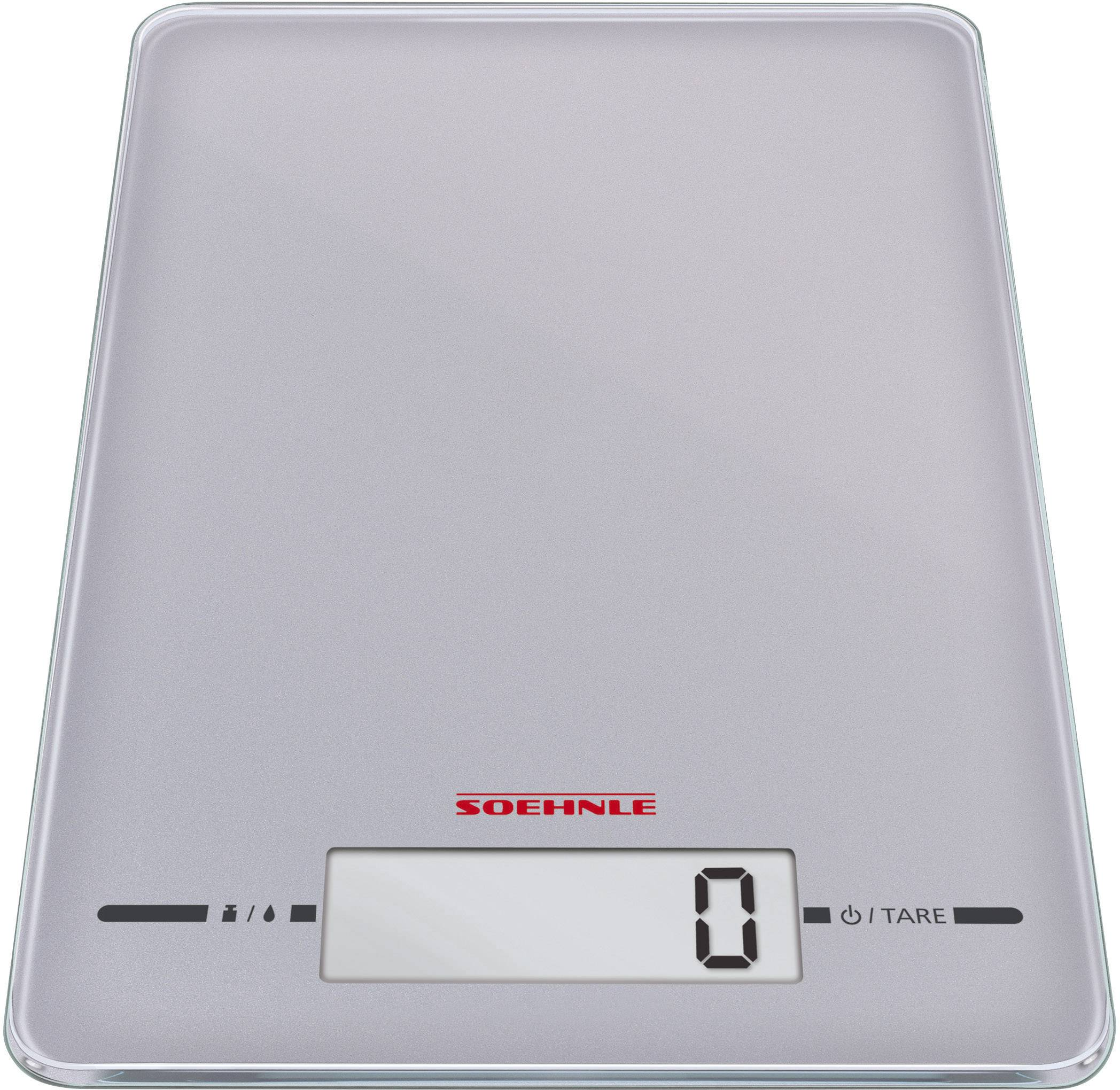 Soehnle Page Evolution silver Kitchen scales digital Weight ...