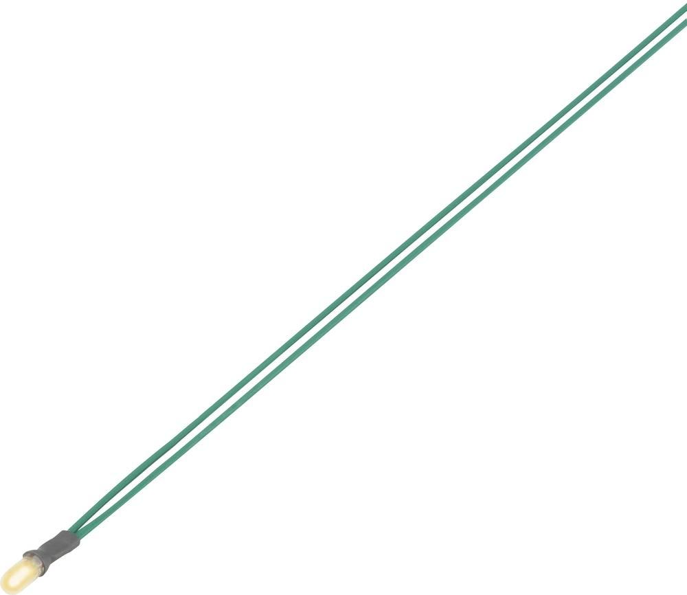 Miniaturna žarnica s priključnim kablom 8 V 0.64 W rdeča vsebina: 1 kos