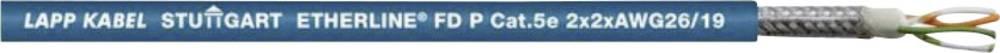 Omrežni kabel CAT 5e S/UTP 2 x 2 x 0.12 mm modre barve LappKabel 2170289 100 m