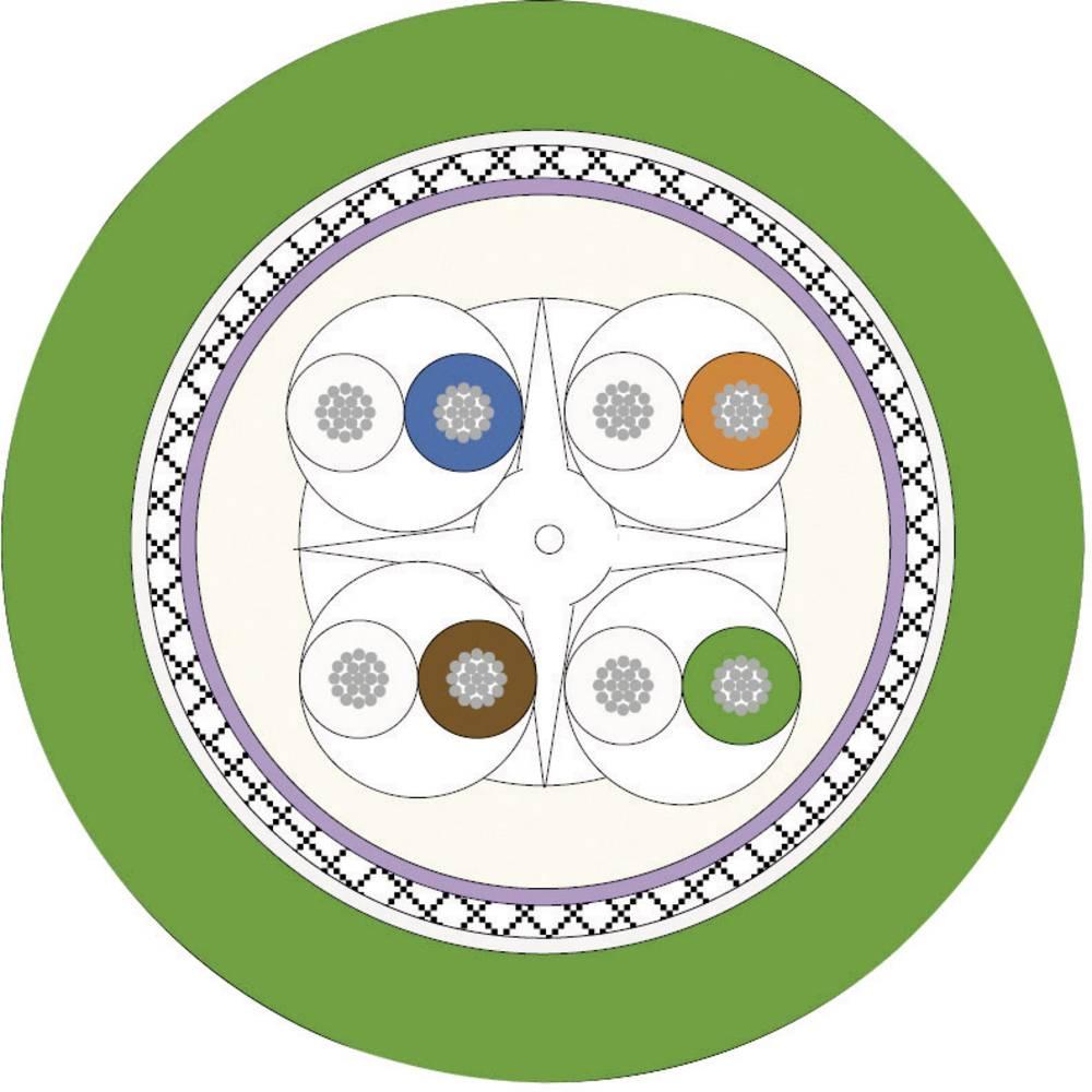 Omrežni kabel CAT 6 SF/UTP 4 x 2 x 0.13 mm zelene barve LappKabel 2170488 300 m