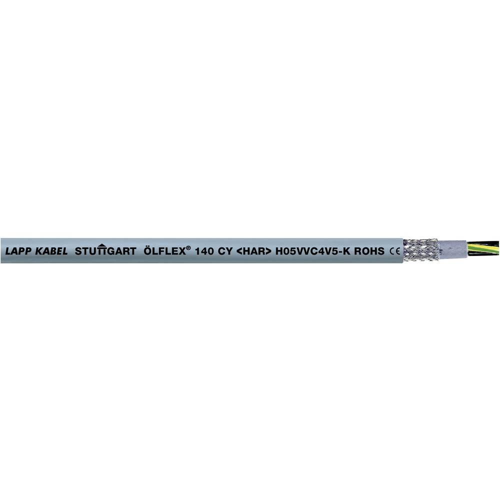 Krmilni kabel ÖLFLEX® 140 CY 5 G 1.5 mm sive barve LappKabel 0035732 50 m
