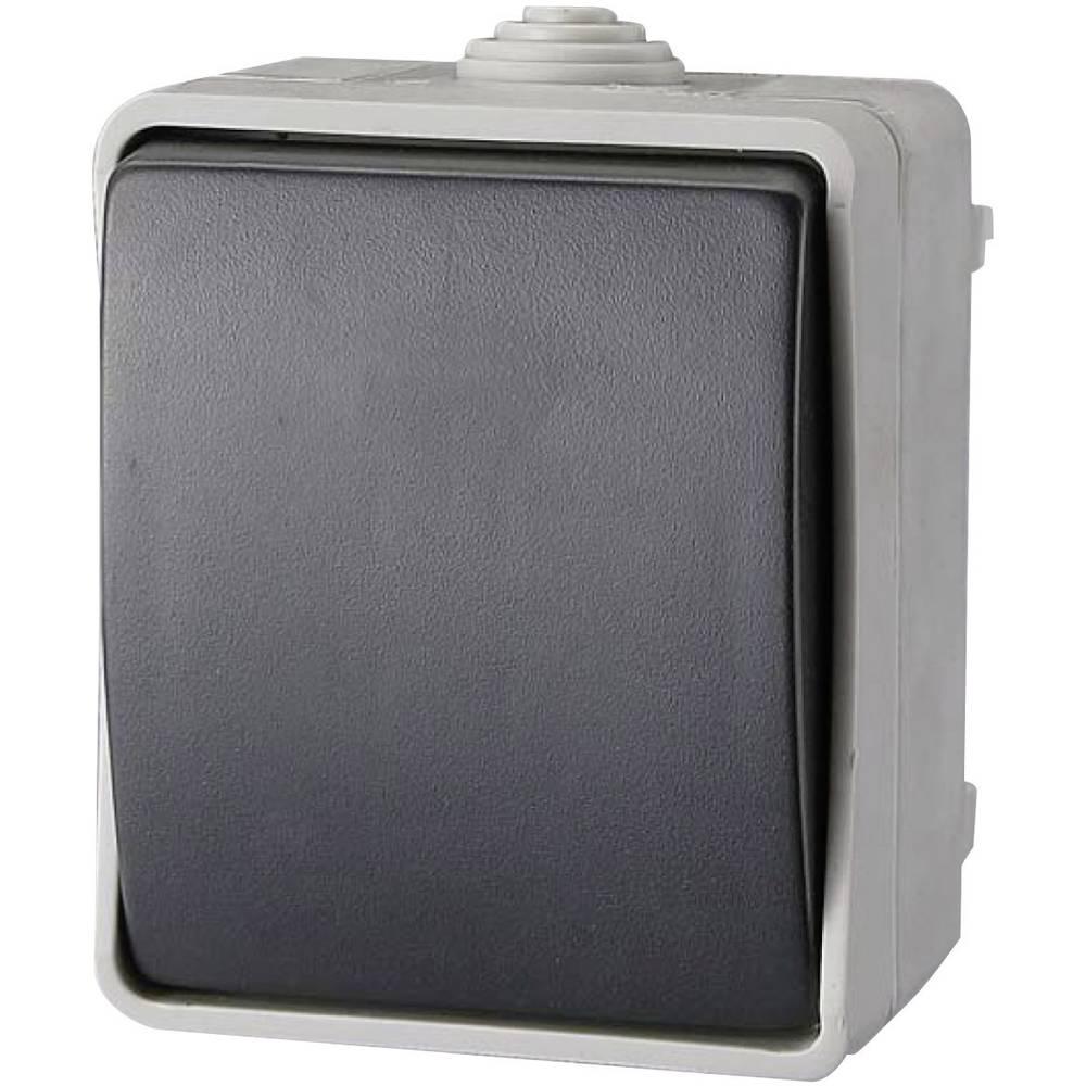 Izmjenična sklopka GAO, prekidač struje standardni siva EF600SA