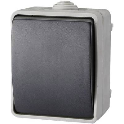 Image of GAO EF600SA Wet room switch product range Toggle switch, Circuit breaker Standard Grey