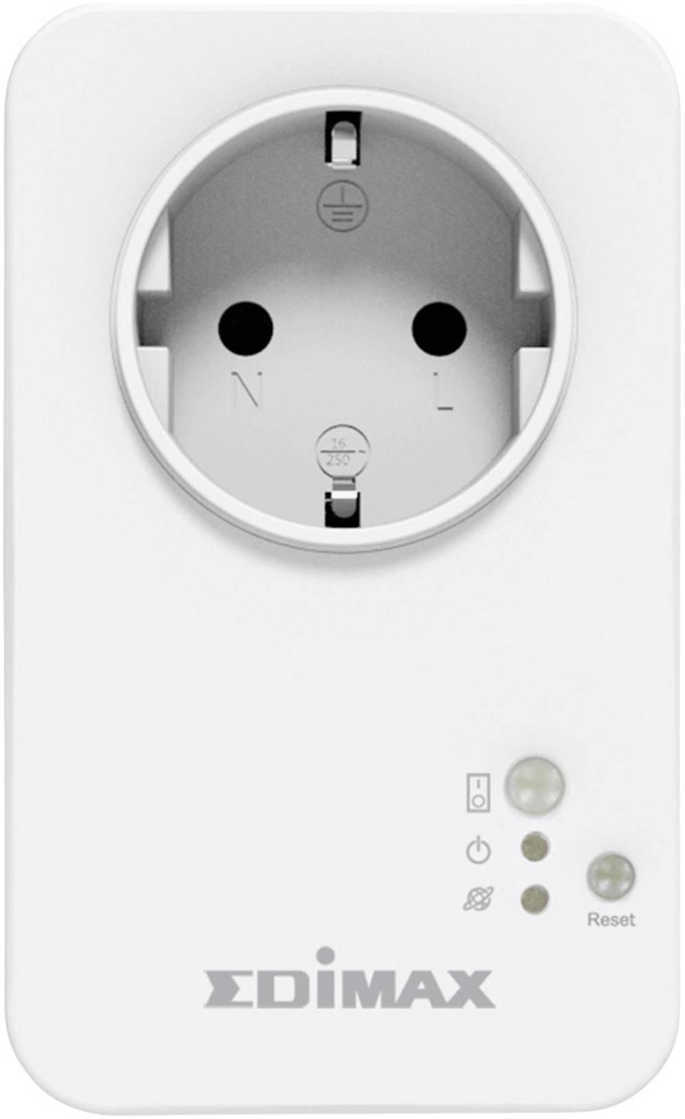Inteligentna utičnica za kućno upravljanje Smart Plug WLAN, frekvencija 2,4 GHz SP-1101W EDIMAX