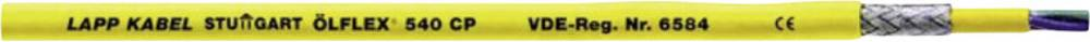 Priključni vodnik ÖLFLEX 540 CP 5 G 1 mm rumene barve LappKabel 00127603 50 m
