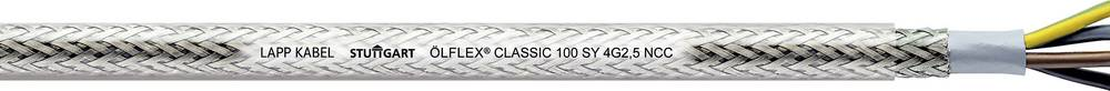 Krmilni kabel ÖLFLEX® CLASSIC 100 SY 4 G 1.5 mm transparentne barvene barve LappKabel 00160663 50 m