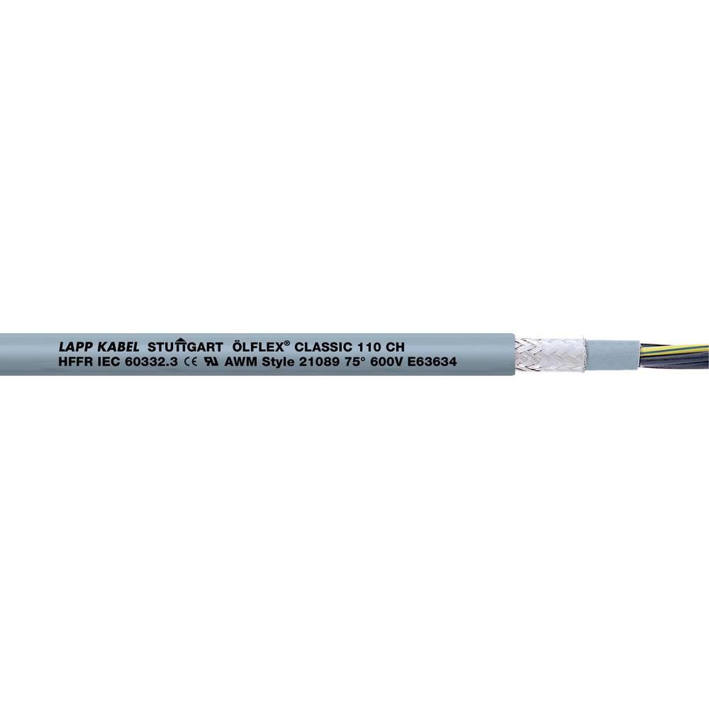 Krmilni kabel ÖLFLEX® CLASSIC 110 CH 2 x 0.75 mm sive barve LappKabel 10035040 100 m