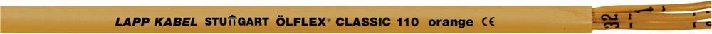 Krmilni kabel ÖLFLEX® CLASSIC 110 oranžne barve 3 G 1.5 mm oranžne barve LappKabel 0019711 300 m