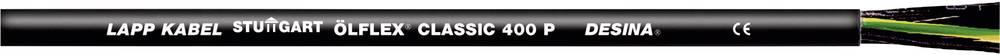 Krmilni kabel ÖLFLEX® CLASSIC 400 P 4 G 10 mm črne barve LappKabel 1312976 50 m