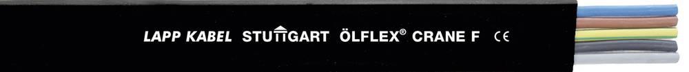 Upravljački kabel ÖLFLEX® CRANE F 5 G 6 mm crne boje LappKabel 0041055 500 m
