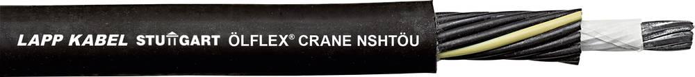 Krmilni kabel ÖLFLEX® CRANE NSHTÖU 4 G 2.5 mm črne barve LappKabel 00430303 50 m