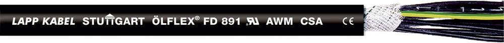 Kabel za energetski lanac ÖLFLEX® FD 891 7 G 1 mm crne boje LappKabel 1026128 50 m