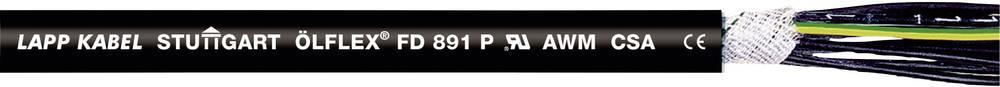 Släpkedjekabel LappKabel ÖLFLEX® FD 891 P 5 G 2.50 mm² Svart 50 m